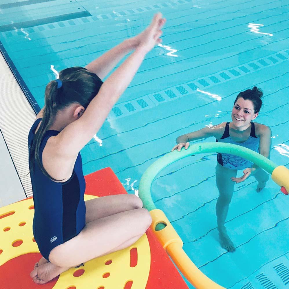 spelenderwijs leren zwemmen