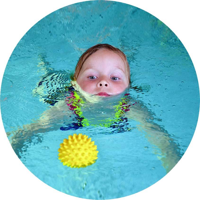 watervrij en zwemveilig op zwemles
