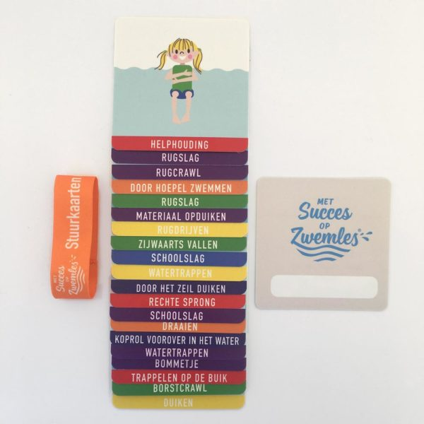 stuurkaarten voor zwemsintructeurs