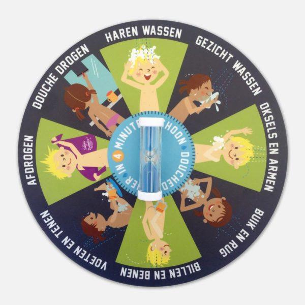 Douchedraaier met timer voor kinderen op zwemles