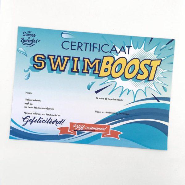swimboost certificaat