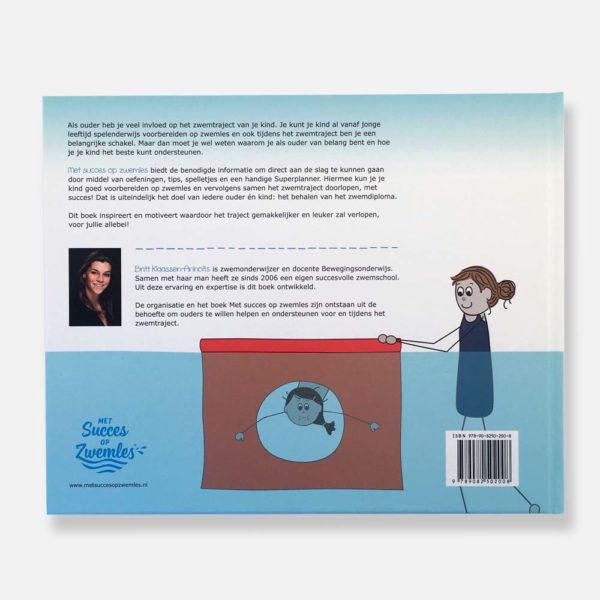 zwemboek voor ouders, achterkant